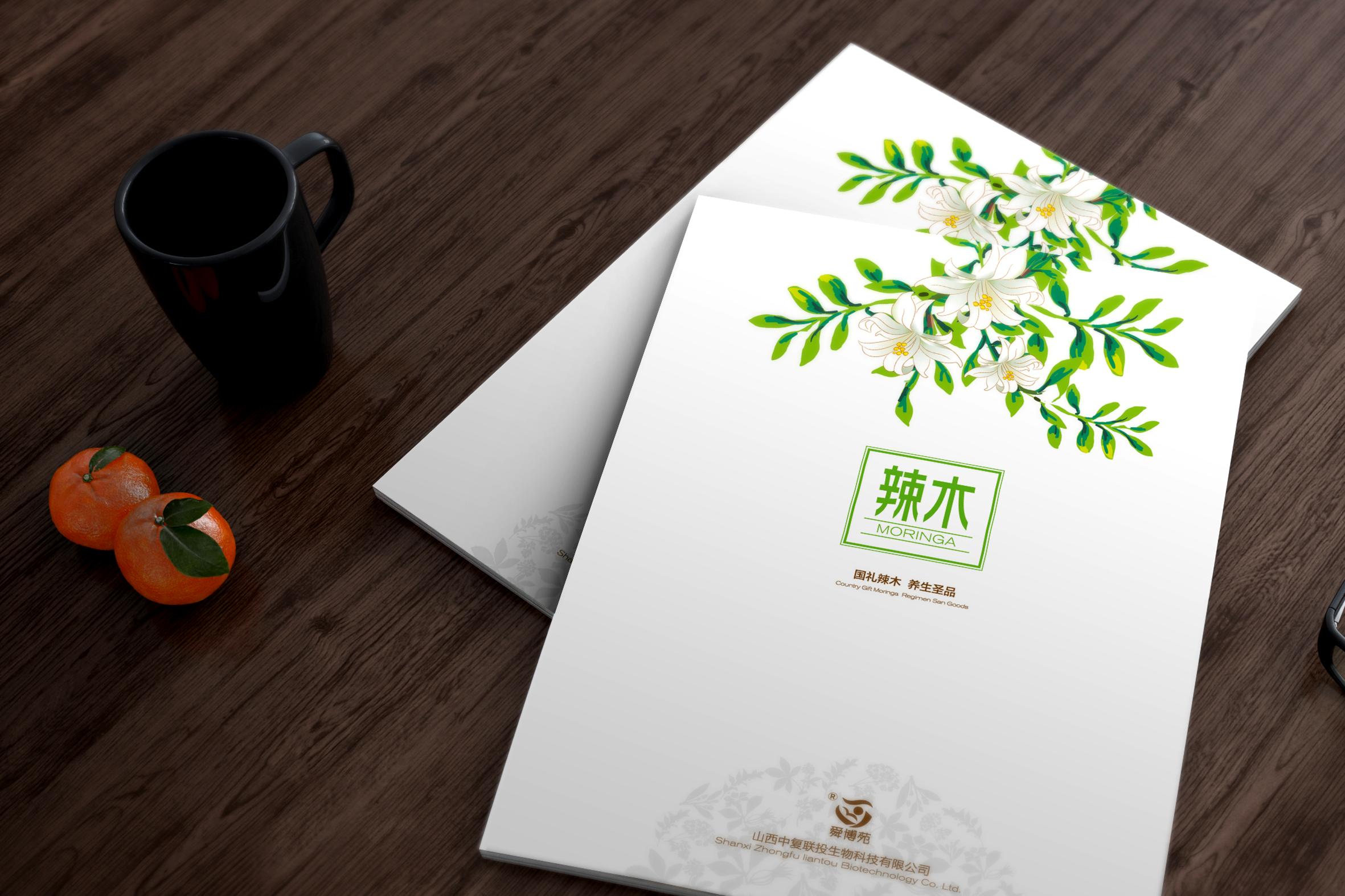 北京中复联投生物科技有限公司产品画册设计